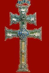 significado de una cruz negra en la frente