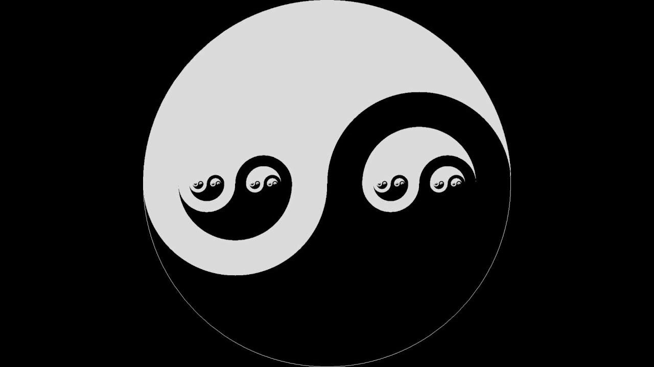 significado de simbolo blanco y negro
