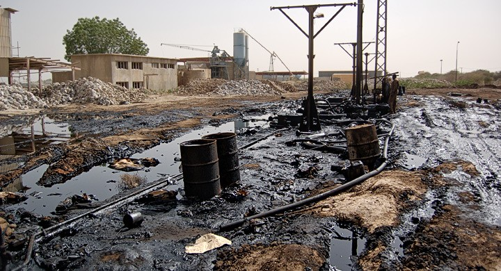 contaminación del suelo por hidrocarburos