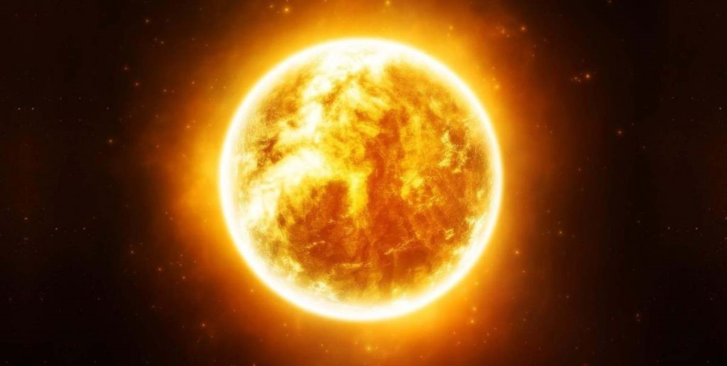 sistema solar sol