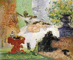 cubismo : Obra de Paul Cézanne (1907)