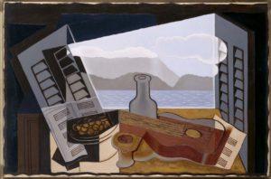 Obra de Juan Gris en cubismo