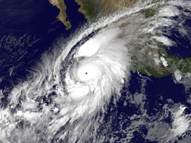 el huracán patricia