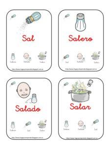 Familia Léxica de Sal