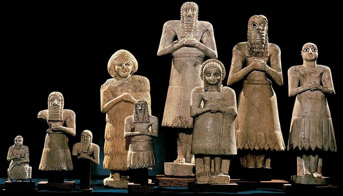 Resultado de imagen de Sumerios: el Pueblo de las Cabezas Negras
