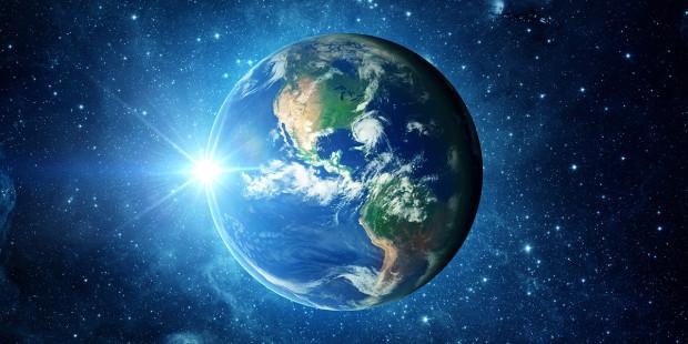 planeta tierra espacio