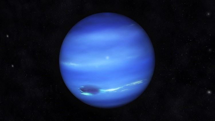 neptuno planeta color