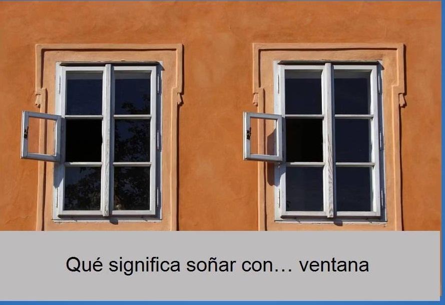 soñar con ventana cerrada