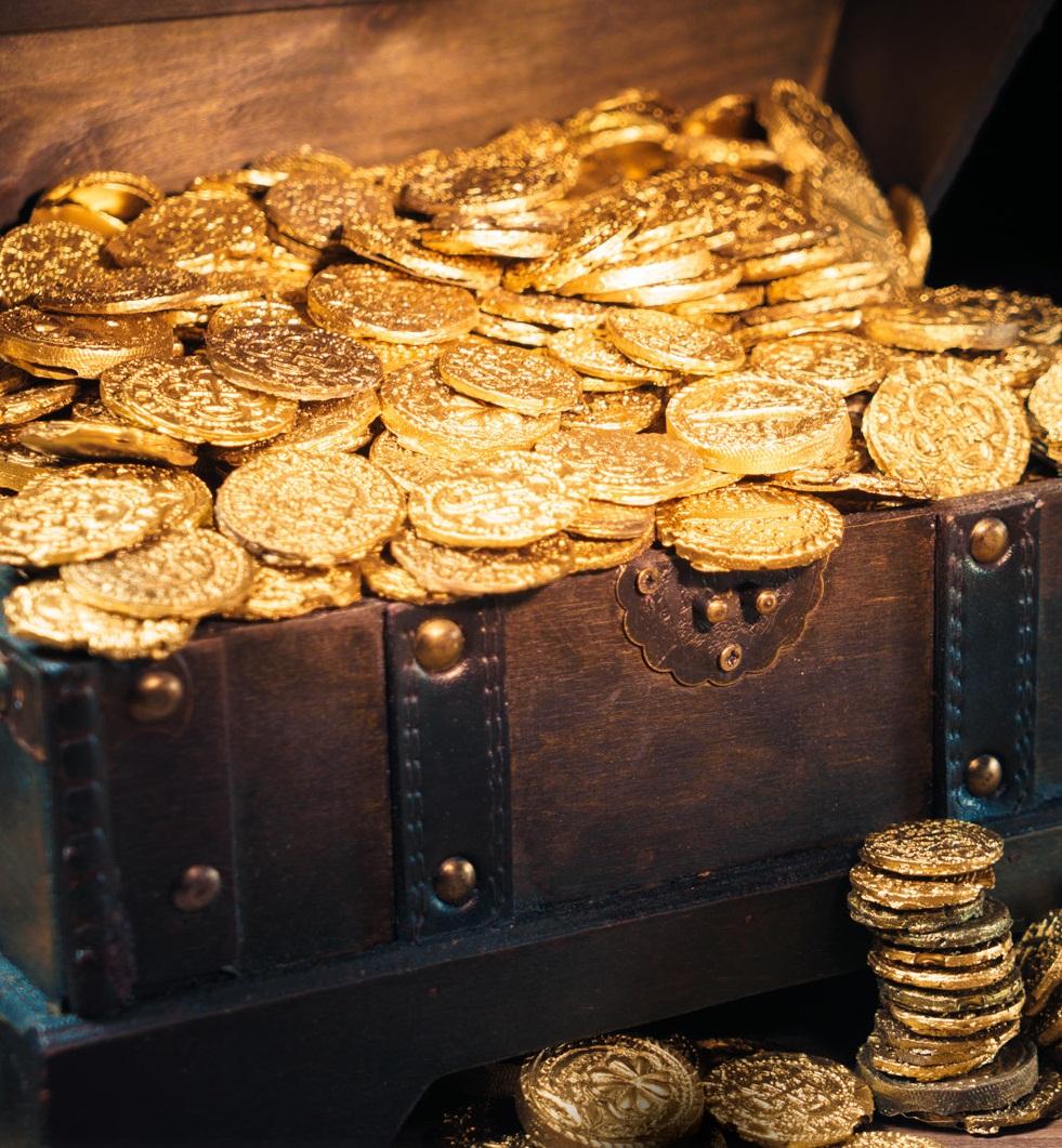 soñar con monedas cayendo