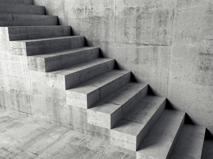 soñar con escaleras rotas