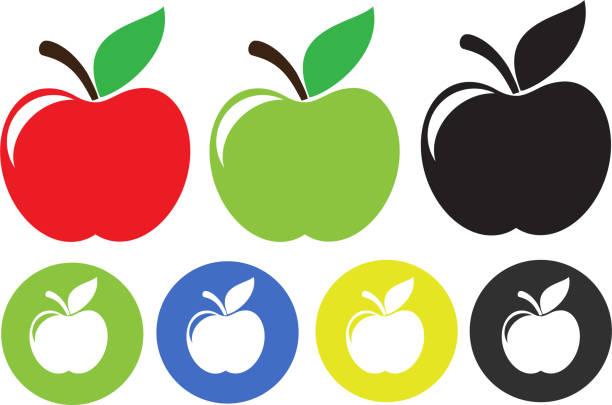 soñar con manzanas de colores