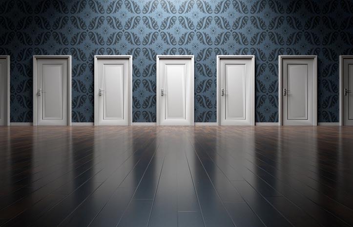 soñar con puertas blancas