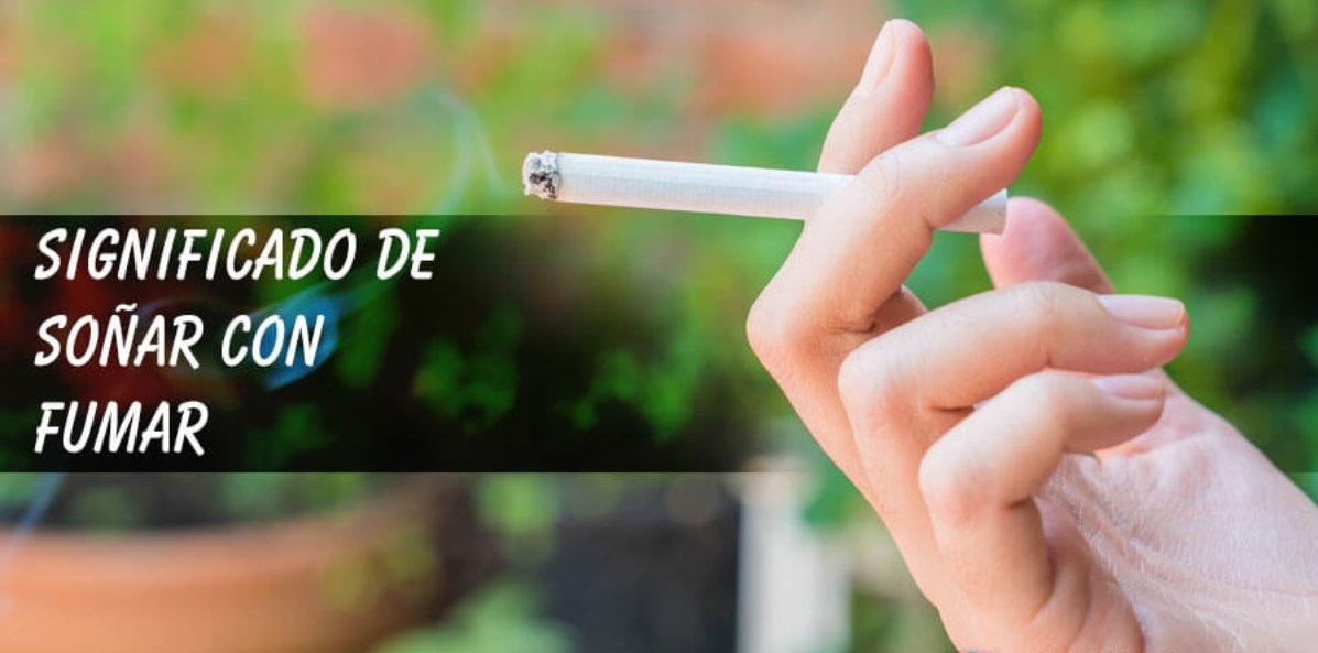 soñar con ver fumar cigarrillo