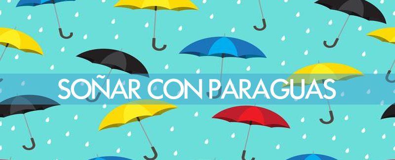 soñar con paraguas cerrado