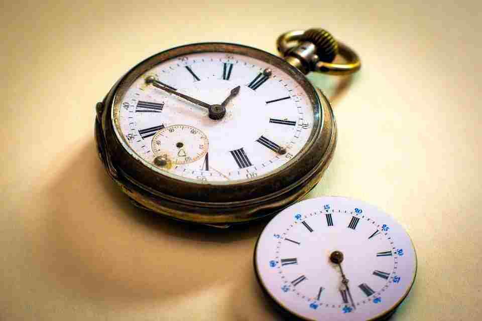 soñar con reloj roto