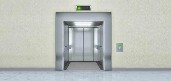soñar con ascensor dañado