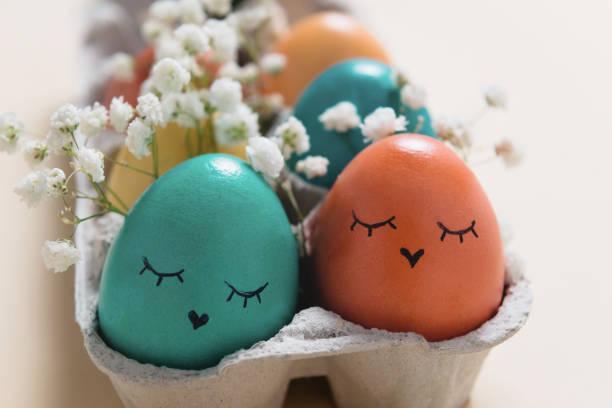 soñar con huevos bonitos