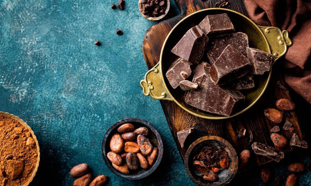 soñar con abundante chocolate