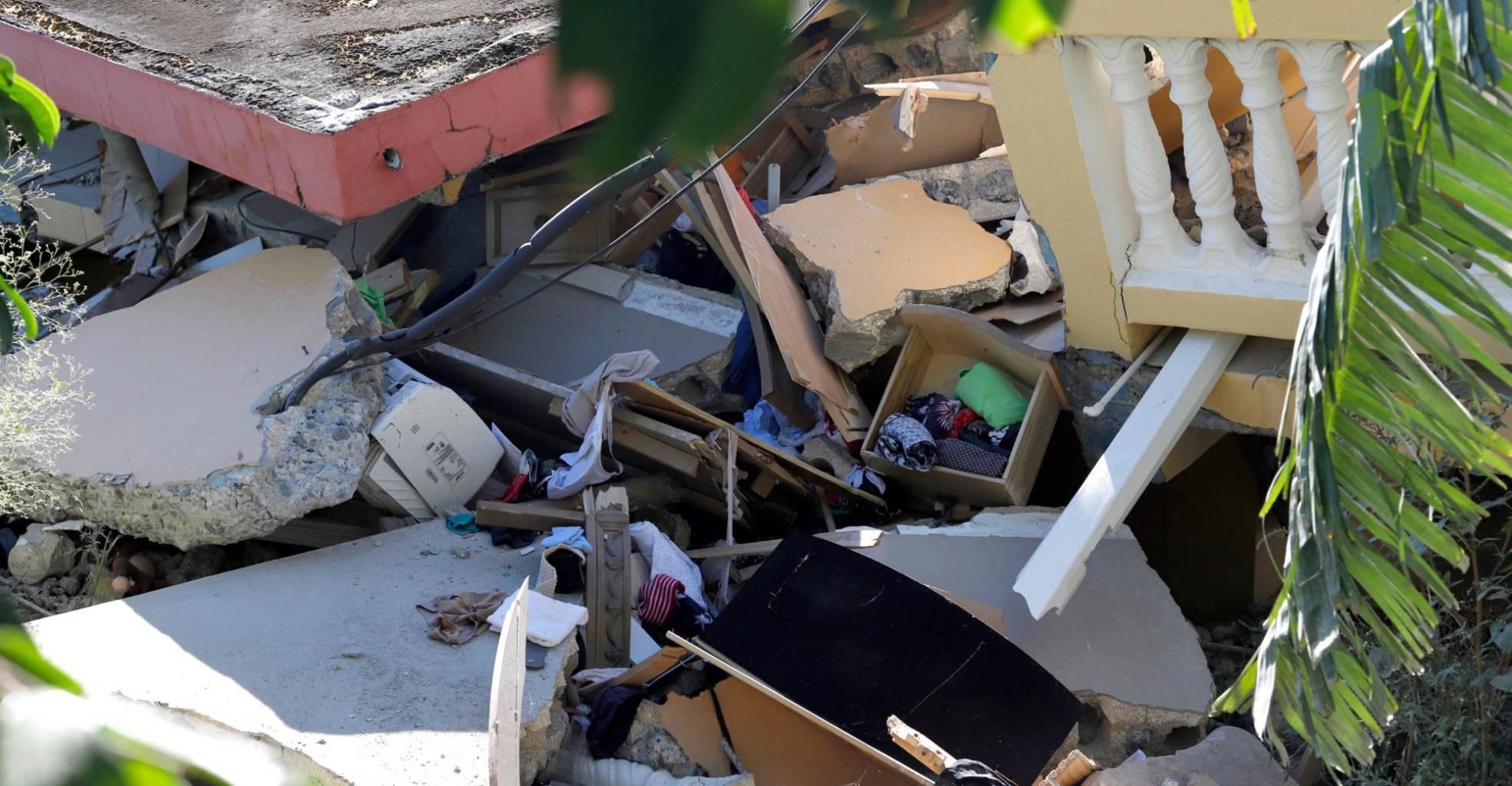soñar con terremoto y derrumbe