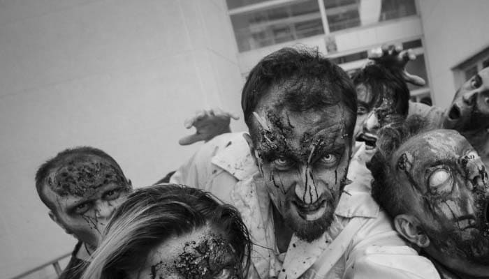 soñar con zombies que te muerden