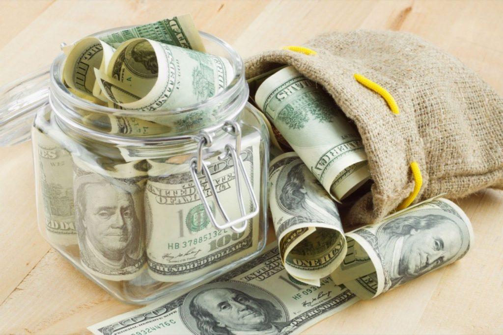 soñar con dinero con billetes