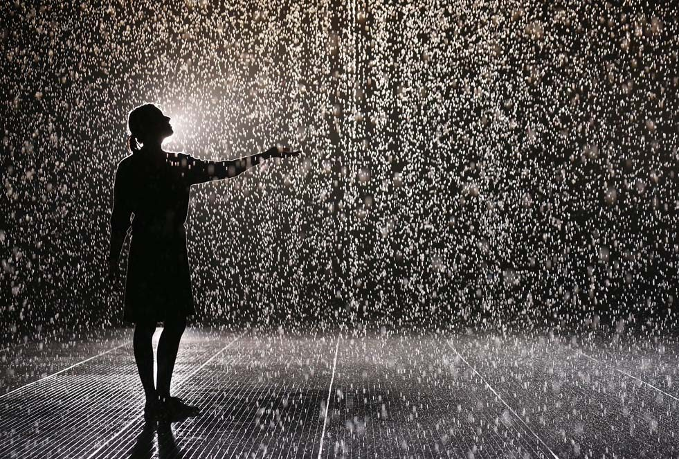 soñar con lluvia abundante